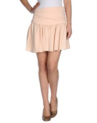 Miu Miu Skirts Knee Length Skirts Women Beige
