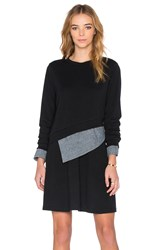 Shades Of Grey Multi Layer Dress Black