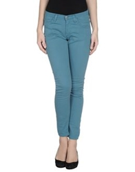 Minimal Casual Pants Deep Jade