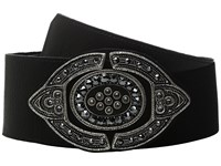 Leather Rock 1711 Vintage Black Women's Belts