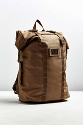 Urban Outfitters Mis California Roll Up Backpack Brown