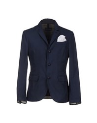 Aquarama Suits And Jackets Blazers Men Dark Blue