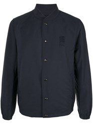 Kent And Curwen Unlined Blouson Blue