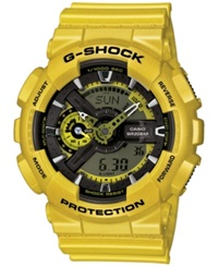 G Shock Women's Analog Digital Gold Tone Resin Strap Watch 49X46mm Gmas110gd 4A2 No Color