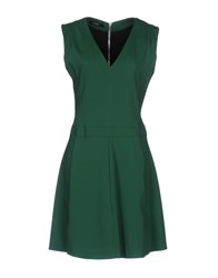 Flavio Castellani Short Dresses Emerald Green