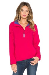 Patagonia Reversible Snap T Glissade Pullover Pink