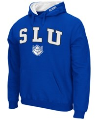 Colosseum Men's Saint Louis Billikens Arch Logo Hoodie Blue