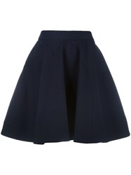Vivienne Westwood Anglomania A Line Short Skirt Blue