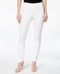 Styleandco. Style And Co. Tummy Control Stretch Leggings Bright White