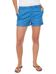 Fat Face Padstow Chino Shorts Cobalt