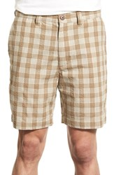 Men's Patagonia 'Pucker' Seersucker Shorts Ash Tan