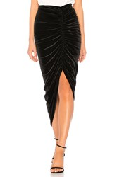Bailey 44 Any Seven Velvet Skirt Black