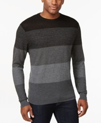 Ryan Seacrest Distinction Colorblocked Crew Neck Sweater Only At Macy's