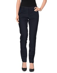 Pt01 Trousers Casual Trousers Women Dark Blue