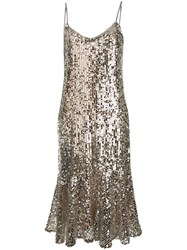Veronica Beard Mykola Dress Silver