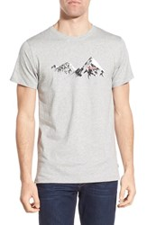 Fjall Raven Men's Fj Llr Ven 'Classic Mountain' Graphic Crewneck T Shirt
