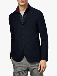 Ted Baker Fletwud Jacket Navy Blue