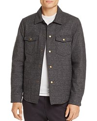 Billy Reid Michael Quilted Shirt Jacket 100 Exclusive Charcoal