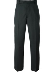 Matthew Miller 'Calvin' Straight Leg Trousers Grey