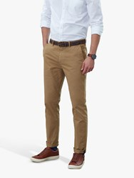 Joules Laundered Slim Fit Chinos Corn