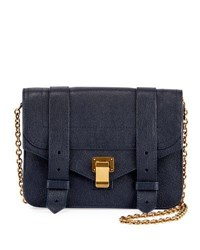Proenza Schouler Ps1 Wallet On A Chain Bag Navy