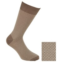 John Lewis Birdseye Egyptian Cotton Socks Pack Of 2 Brown