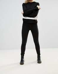 Cheap Monday Second Skin Jeans New Black
