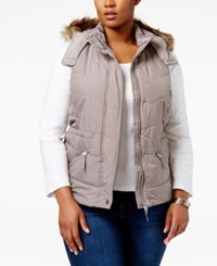 American Rag Trendy Plus Size Puffer Vest Only At Macy's Cinder