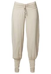 Venice Beach Uma Trousers Bleached Wood Light Grey