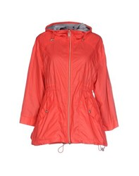 Trussardi Jeans Coats And Jackets Jackets Women Coral