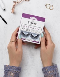 Eylure Dramatic Lashes No. 202 Dramatic No. 202 Black