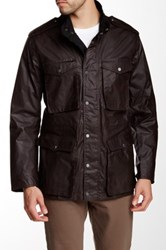 Hunter Original Waxed Utility Jacket Brown