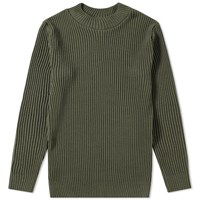 S.N.S. Herning Patent Crew Knit Green