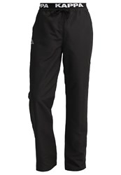 Kappa Varid Tracksuit Bottoms Black