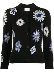 Barrie Knitted Floral Cardigan 60