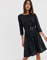 2Nd Day 2Ndday June Belted Swing Dress Black
