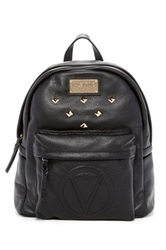Valentino By Mario Valentino Diego Genuine Leather Backpack Black