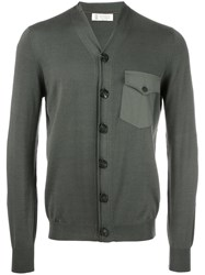 Brunello Cucinelli V Neck Cardigan Green