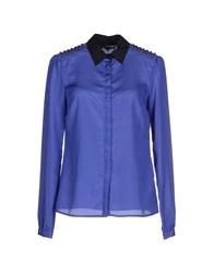 Silvian Heach Shirts Purple