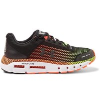 Under Armour Hovr Infinite Mesh And Rubber Running Sneakers Black