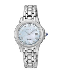 Seiko Le Grand Sport Diamond And Stainless Steel Bracelet Watch Silver