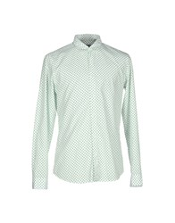 M.Grifoni Denim Shirts Green