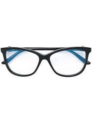 Cartier Square Frame Glasses Black