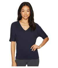 Tasc Performance Perfect V Top Classic Navy Clothing