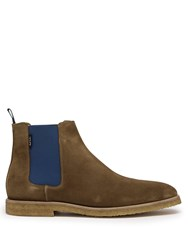 Paul Smith Andy Suede Chelsea Boots Brown