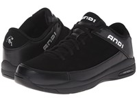 And 1 Coach Low Black Black Men's Basketball Shoes