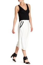 Nicole Miller Side Trim Wide Leg Pant Multi