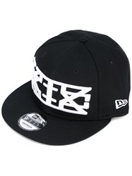 Ktz Embroidered Baseball Cap Men Cotton M Black