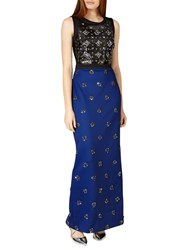 Phase Eight Collection 8 Gabby Embellished Dress Cobalt