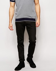 Reiss Black Jeans In Slim Fit